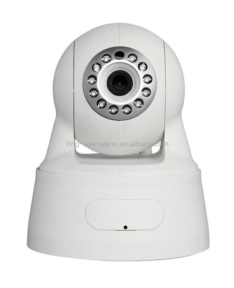 Factory price Wi-Fi Smart Home Megapixel IP Camera, Supports Remote Control and 10m Night Vision