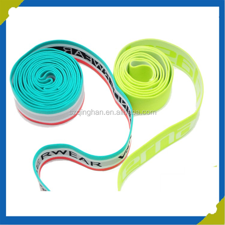 newest elastic belt with customized elastic fabric for suspenders