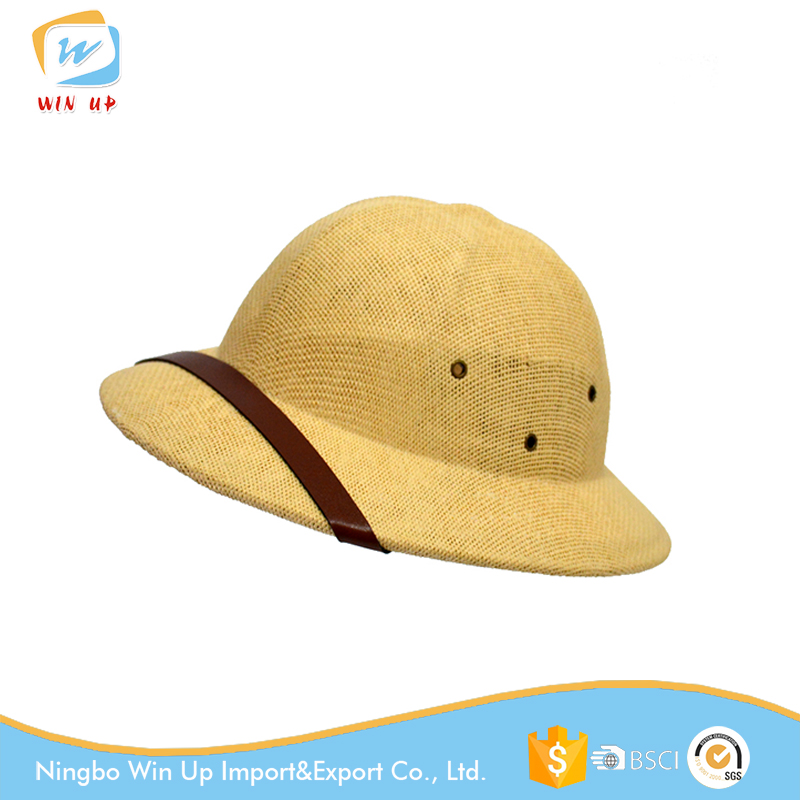 Winup Helmet Pith Sun Hat Paper Army Vietnam Hats for Men