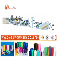 Double Layer PP,PS,PE Plastic Sheet Extrusion Machine