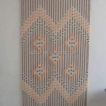 Handmade Antique Wood Painted Door Beads Curtain