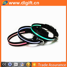 Christmas special decoration led flashing light up dog elastic collar