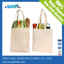 2015 promotional canvas bags | plain tote bags canvas for screen printing
