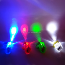 Wholesale price electronic gift items children toy finger ring led flash lightning toy