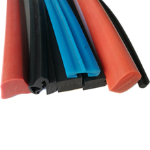 Heat and fuel resistant high pressure flexible soft colorful silicone seal