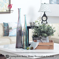 OEM ODM Clear glass vase manufacturer cheap clear long neck flower glass vase