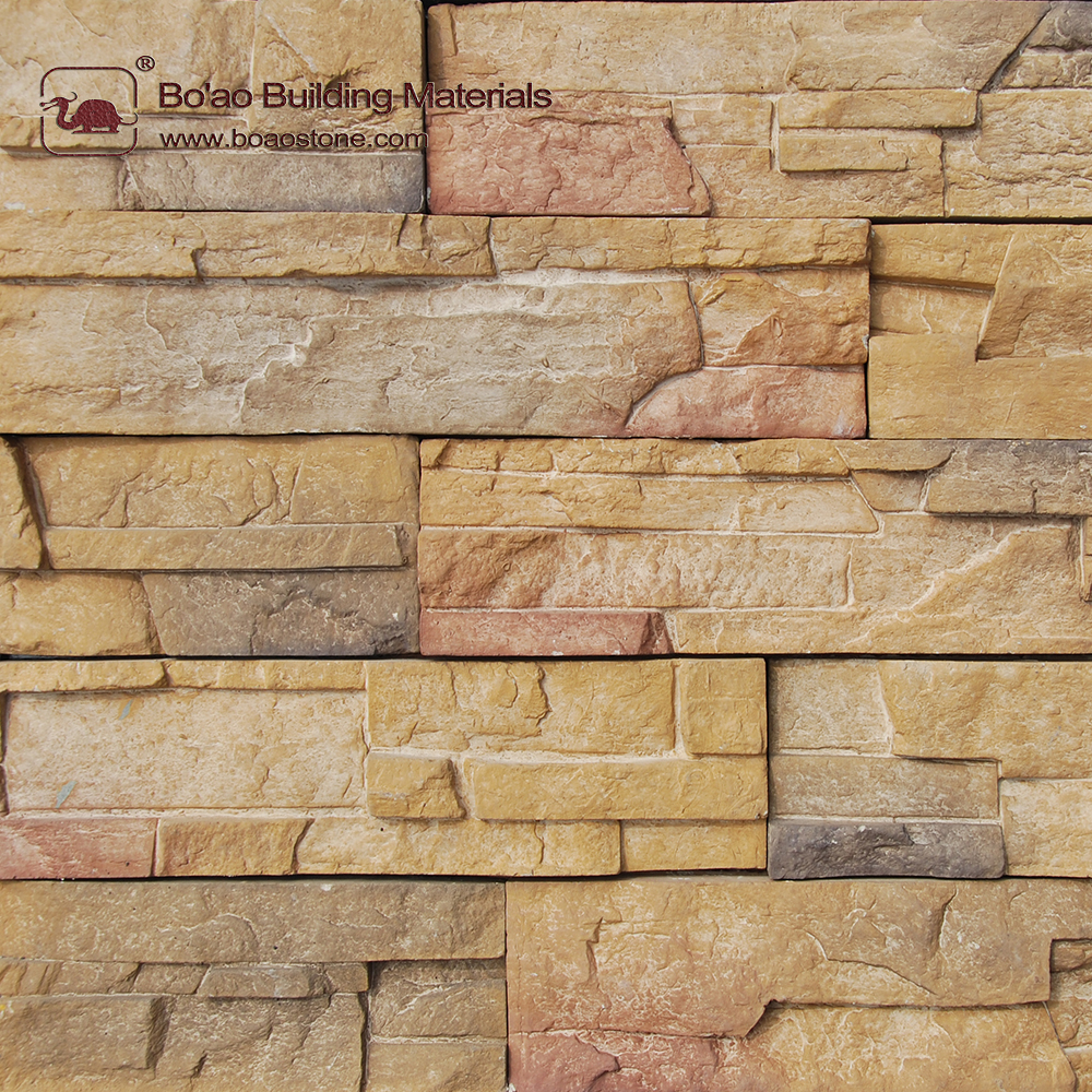 Faux thin brick stone veneer siding wall cladding