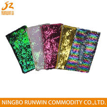 SGS Approval Customized Wholesale double reversible sequin pencil case
