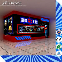 Thrilling Action Ride Best Seller Game Machine 5D 6D 7D Cinema