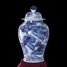 66cm large jingdezhen blue and white chinese vase made in Jingdezhen
