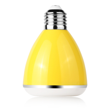Hot Sale smart bulb Portable Mini Speaker With LED Light for home and office
