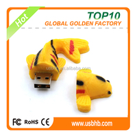 pvc golden 8gb low price flash memory from China factory , bran chip flash memory