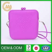 Fashion Style Oem Odm Silicon Bag Harmless Unique Design Silicone Jelly Bag For Women