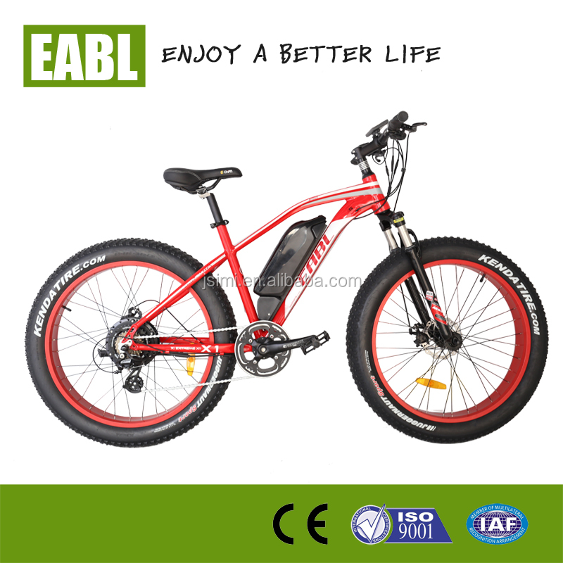 500W 2015 sport racing bike fat tire mountain electric bicycle for sale