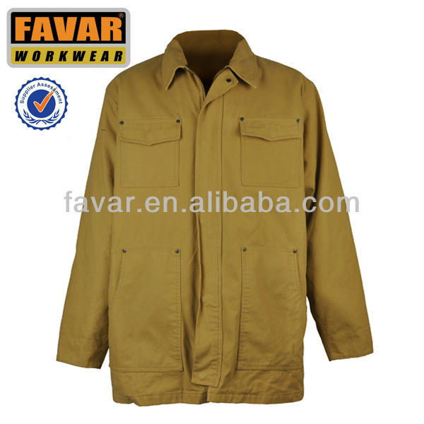 mens cotton canvas hunting jacket workwear garment