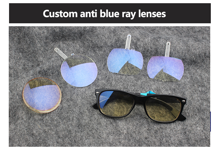 Fast delivery YNJN fashion anti blue light custom logo computer glasses