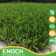 Guangzhou Cheap Garden Artificial Grass In Green Color