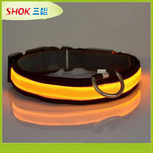 CE hot led dog collar pet collar dog tick collar