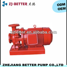 1.1kw XBD-W fire fighting pump trailer