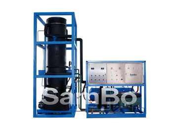 Reasonable Price of 15T Tube Ice Machine Evaporator/Drum For Cold Drinking