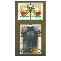 antique stained glass patterns church door