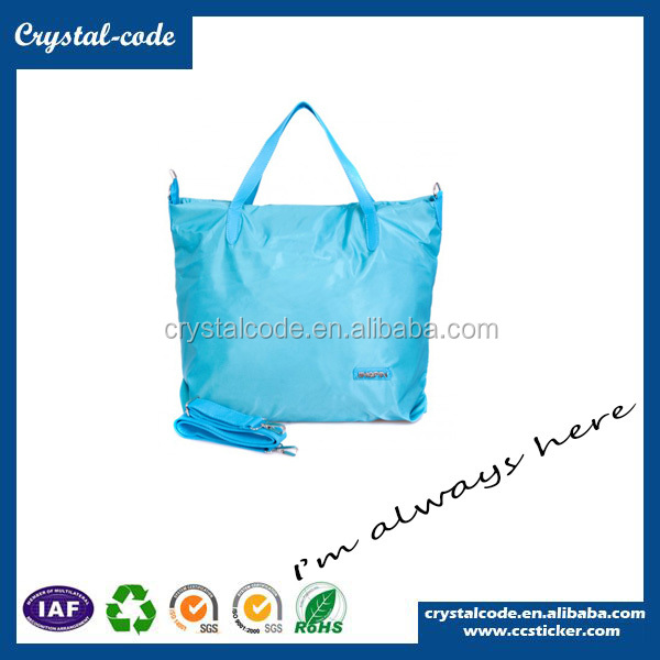 Newest Design 600d Polyester Shopping Canvas Tote Bag