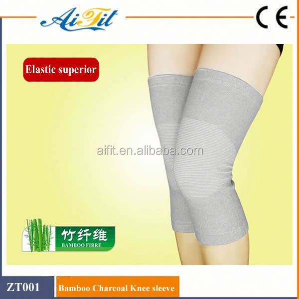 Knitting nylon elastic knee sleeve knee support on discount