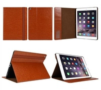 2015 New Product 12.9 Inch Stand Pu Leather Tablet Cover Case For Apple Ipad Pro