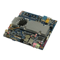 Cheap win CE/X system supported mainboard itx T7100 cpu with 12v dc power/LVDS/VGA/HDMI/2*Lan card for Monitoring System,HTPC