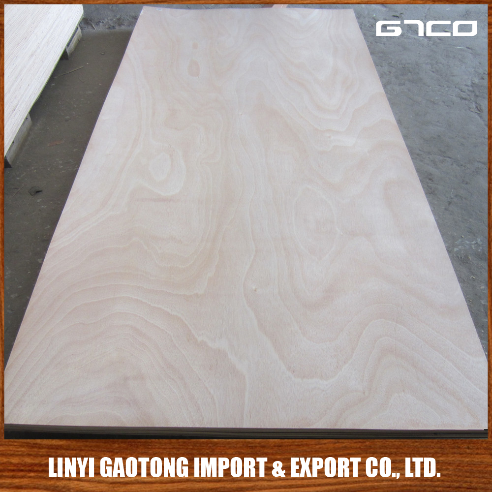 Trade Assurance Chinese cheap plywood E0 E1 E2 Certificate commerical pine / bingtangor / okoume plywood for decoration