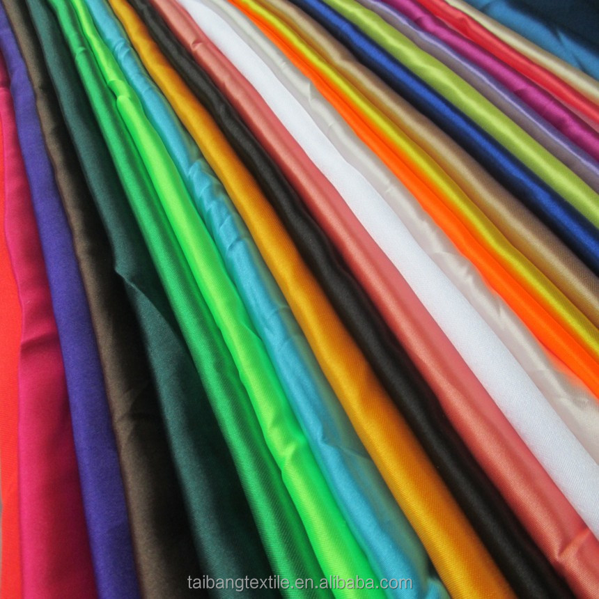 satin lining fabric coral fleece fabric 100 acetate satin lining fabric