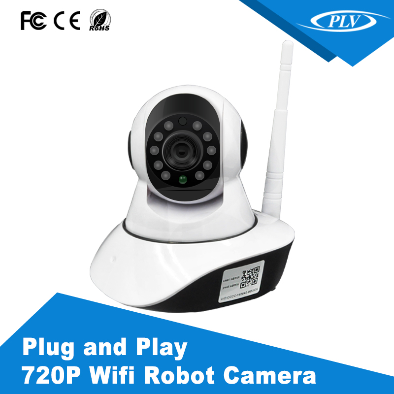 New robot wifi ip camera wireless security camera with sim card