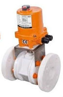 PRAHER Type Ball Vale With Electric / Pneumatic Actuator