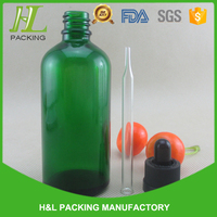 best quality 100ml glass dropper bottle with childproof cap, 100ml glass vial for steroids