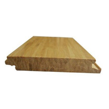 High Quality Click System Natural/carbonized Solid Strand Woven Bamboo Flooring