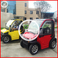Manufacturer solar electric cars with CE for sale