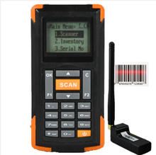 Mini Long range wireless laser barcode scanner with display OBM-M3 Stock Inventory Handheld Terminal