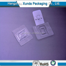 Clear micro sd memory sim card plastic blister packaging