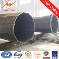 66KV Hot-dip Galvanized Tubular Steel electric pole/telegraph pole