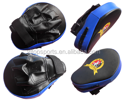 Gebogen Punch Mitts Focus Pads Boksen Apparatuur, Muay Thai MMA Training Boksen Wanten