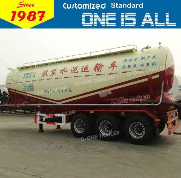 supply top quality low price cement bulk carrier truck / tanker trailer for sale