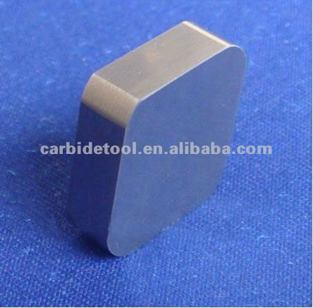 Cemented carbide indexable square milling inserts