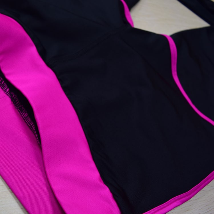 2017 wholesale fake two pieces fitness wear spandex leggings women running yoga pants