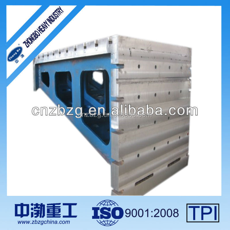 quality High Accurate inspecting equipment cast iron angle plate slotted