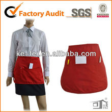 Polyester and Cotton Sexy sushi Bar Bartender Uniforms apron