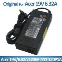 Genuine Original power adapter for Acer 120W 19v 6.32a ac adapter charger