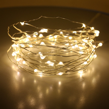 Hot sale valentine's day decorative ambience bulk led chain fairy string warm white firefly lights copper wire