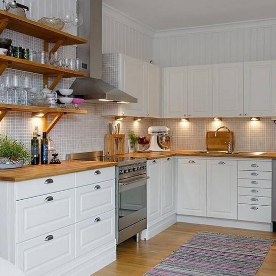 Papel para forrar muebles de cocina excellent cocina con - Forrar muebles cocina ...