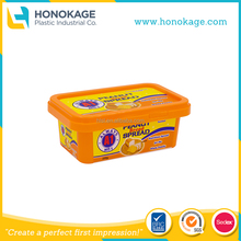Peanut Butter Tub, 250ml Rectangle Peanut Container