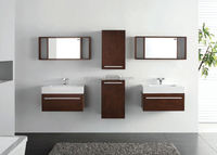 Home furniture plans house Modern design hanging bathroom cabinet bathroom vanity cabinet with customize size and color